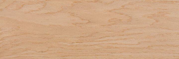 Zelfklevend Fotobehang Marmer Beautiful oak veneer background in elegant beige color. Natural wood texture, pattern of a long veneer sheet, plank.