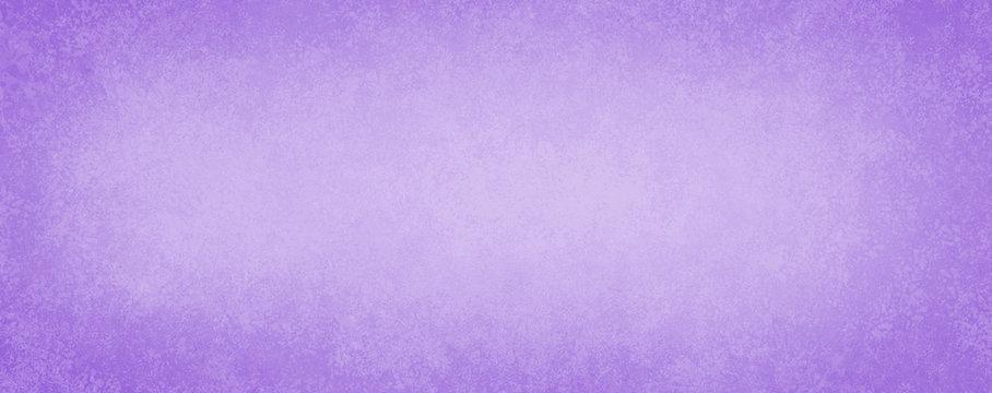 Old pastel purple background, antique paper texture design with light faint vintage grunge borders and soft white center, elegant distressed blank website banner or illustration