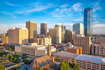 Fotomurales - Oklahoma City, Oklahoma, USA Downtown Cityscape