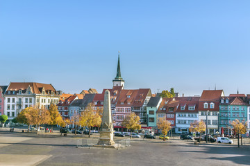 Fotomurales - View of Erfurt, Germany