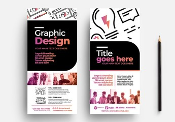 Graphic Design Rack Card Flyer Layout