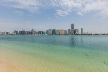 Skyline in Abu Dhabi