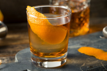 Refreshing Bourbon Old Fashioned Cocktail