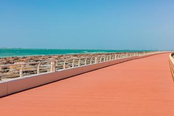 In Dubai am Meer