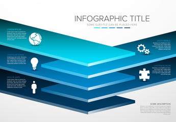 Layers Infographic Layout