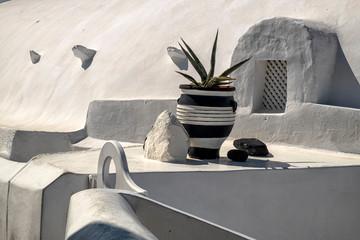 Fototapeten Santorini Cycladic architecture. Santorini. Greece