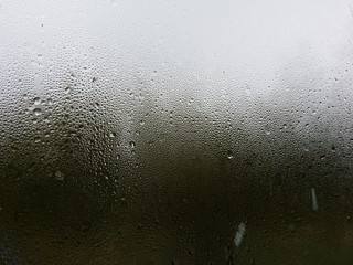 Obraz Rain Drops On Glass Window - fototapety do salonu