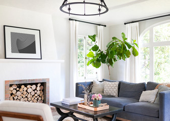 Fototapeta Cozy home living room obraz