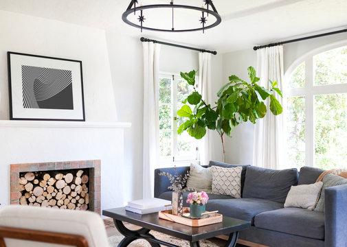 Cozy home living room