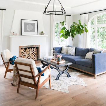 Clean home living room