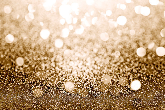 Glam gold glitter