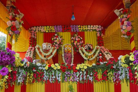 Lord Jagannath, Ratha jatra festival, India