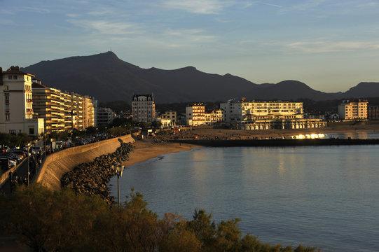 Biarritz fin de journée