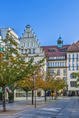 Fotomurales - Square in Chemnitz, Germany