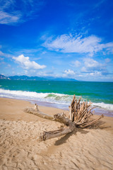 Fototapete -  Scenic beautiful view of Nha Trang beach
