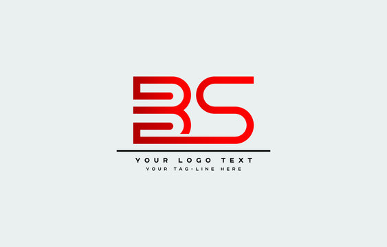 Initial based clean and minimal letter. BS SB B S logo creative fonts monogram icon symbol. Universal elegant luxury alphabet vector design