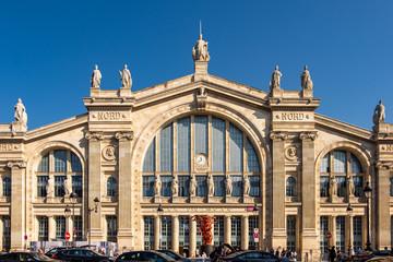Obraz Gare du Nord station in Paris, France - fototapety do salonu