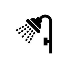 shower icon vector symbol template design trendy