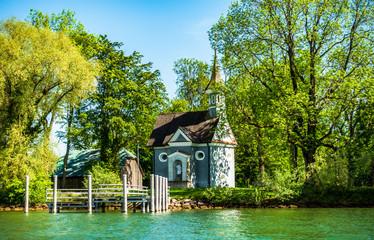 Wall Mural - typical bavarian church