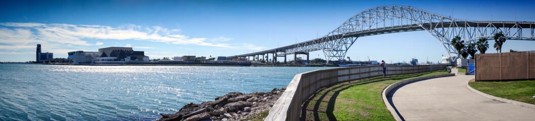 Corpus Christi Harbor Bridge. Corpus Christi, Texas, USA.