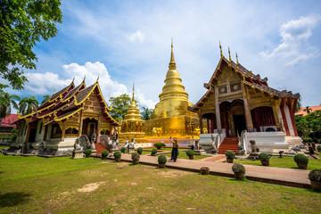 Foto op Plexiglas Temple タイランド北部チェンマイでの写真