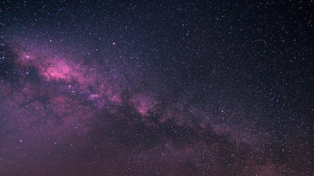 Star Field Against Sky At Night