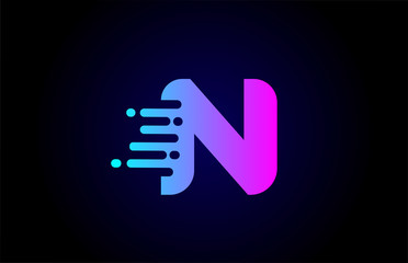 N letter logo icon for business and company