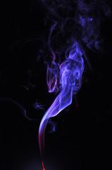 Obraz Dym w ciemności - fototapety do salonu