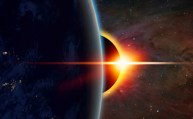 Fototapete - Solar Eclipse