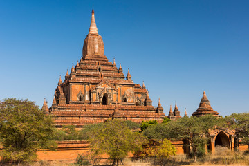 Sulamani Temple in Bagan in Myanmar
