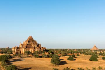 Pagodas in Bagan in Myanmar