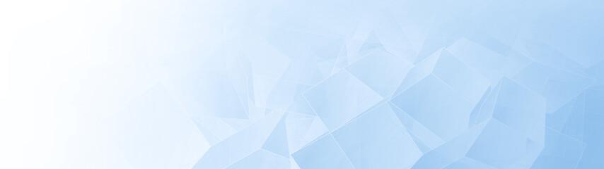Light blue wide banner background Fotobehang