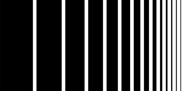 Pattern black stripes vector abstract background graphic.