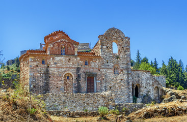 Wall Mural - Church of Evangelistria in Mystras, Greece