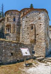 Fototapete - Church of Panagia Hodegetria, Mystras, Greece
