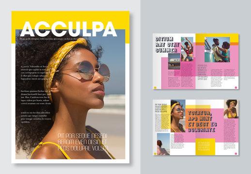 Bright Magazine Layout