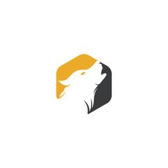 Wolf Logo Design. Modern professional wolf logo design. Wolf head logo vector