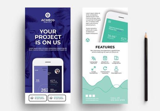 Mobile App Rack Card