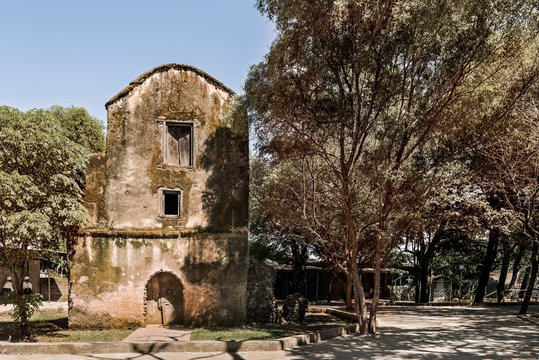 Historic Christian church in Bahir Dar, Ethiopia