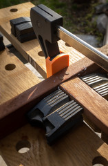 DIY woodworking wooden chair repair