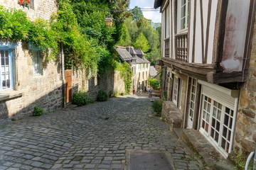 Dinan historic town in France Bretagne Fotomurales