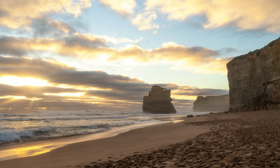Wall Mural - Twelve Apostles, famous landmark along the Great Ocean Road