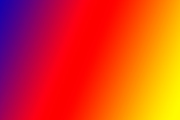 Abstract vivid gradient with purple, red and orange. Background with copy space