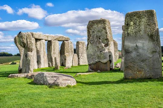 Stonehenge - Close View of the Stones