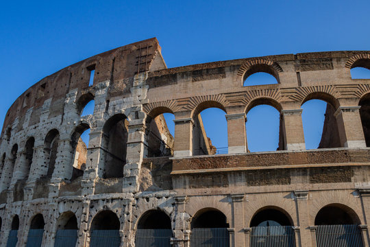 Ancient amphitheater Colosseum.