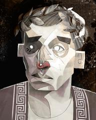 Illustration of man