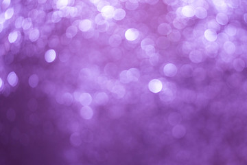 Defocused Image Of Illuminated Purple Lights