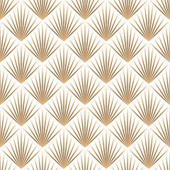 Art deco trellis lines seamless pattern vector graphic design.