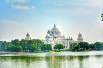 Kolkata Victoria memorial hall , Rani Victoria palace Papier Peint