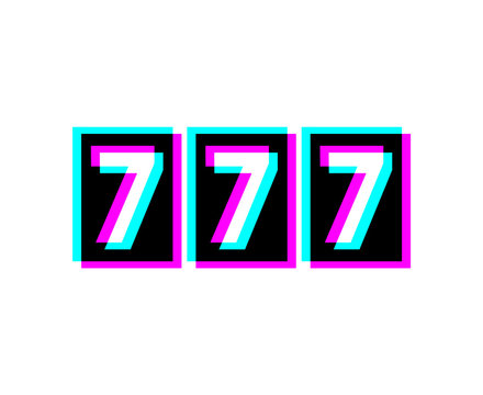 Creative design of 777 bet icon